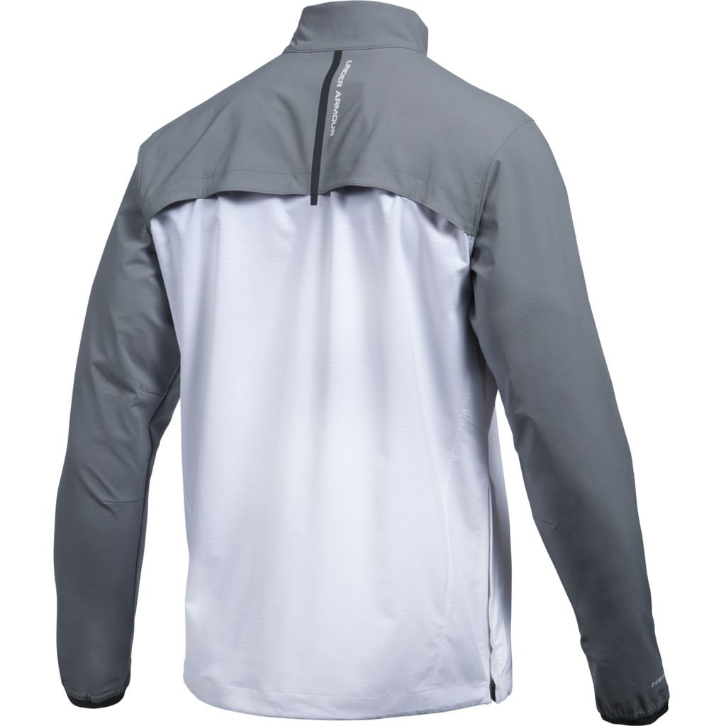 grey under armour jacket