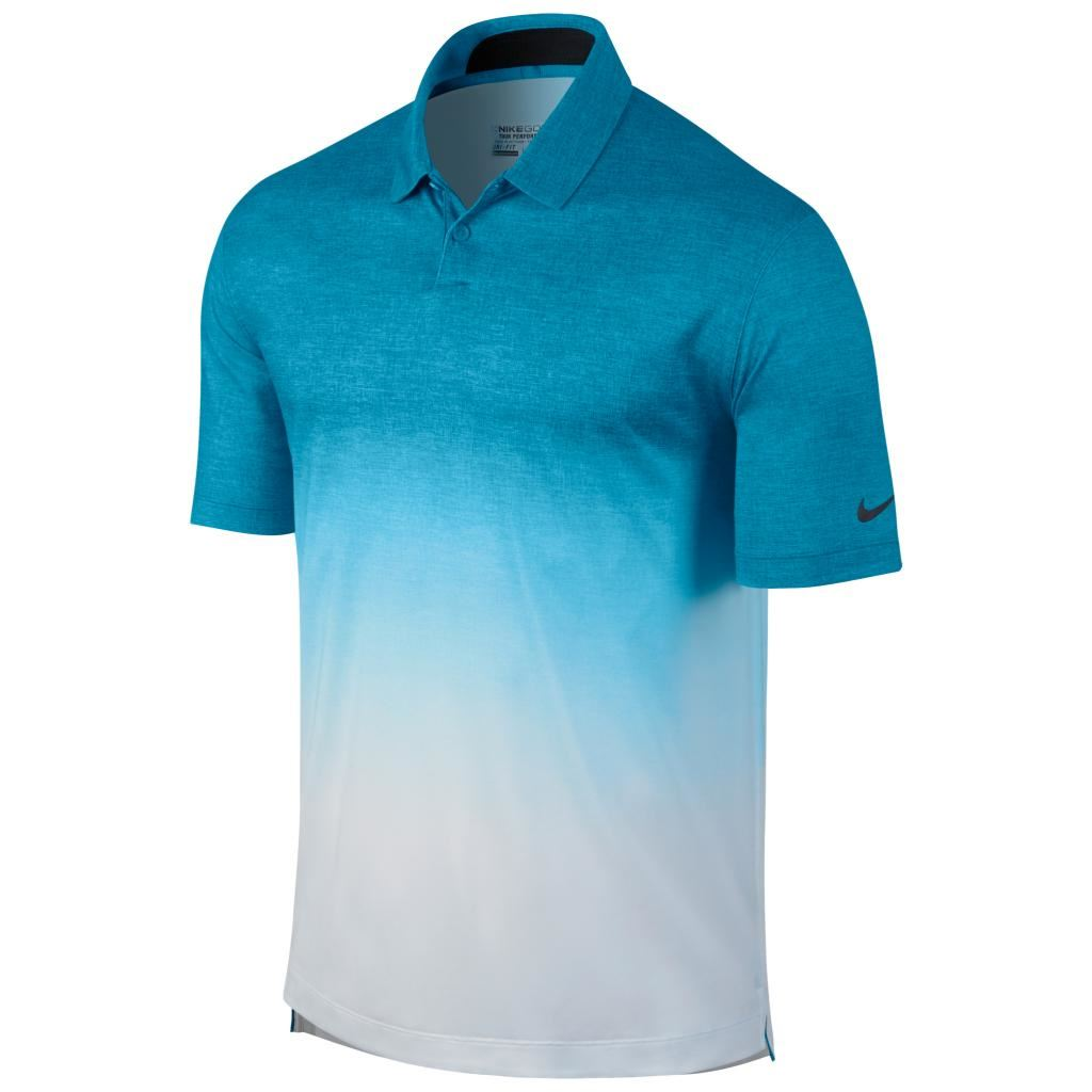 2015 Nike Dri-Fit Afterburner Top Mens Golf Polo Shirt