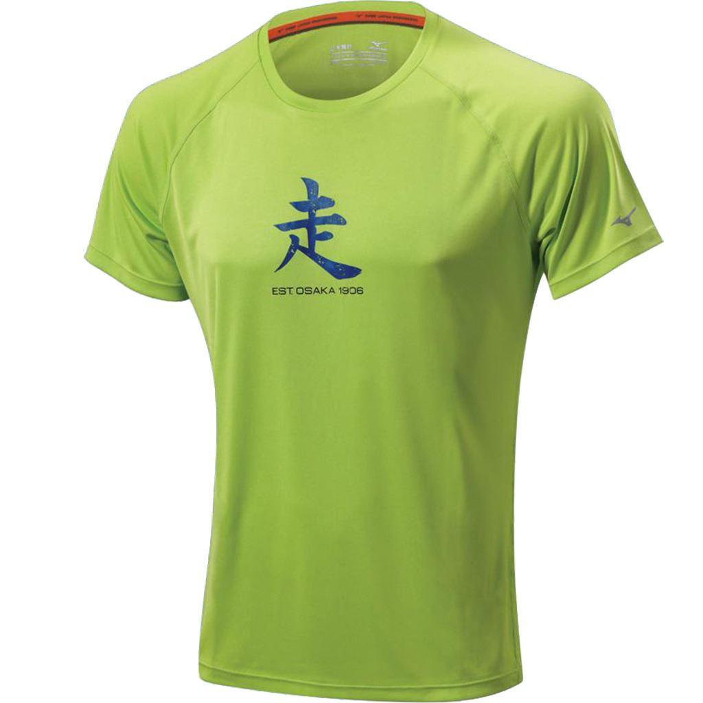 mizuno running t shirts