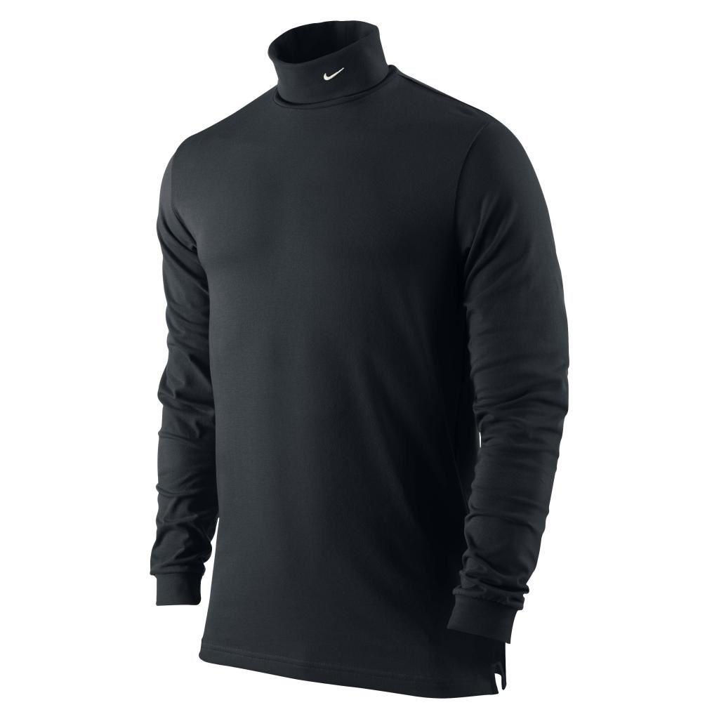 2015 nike dri fit jersey col roul hommes hiver chemise de golf ebay. Black Bedroom Furniture Sets. Home Design Ideas