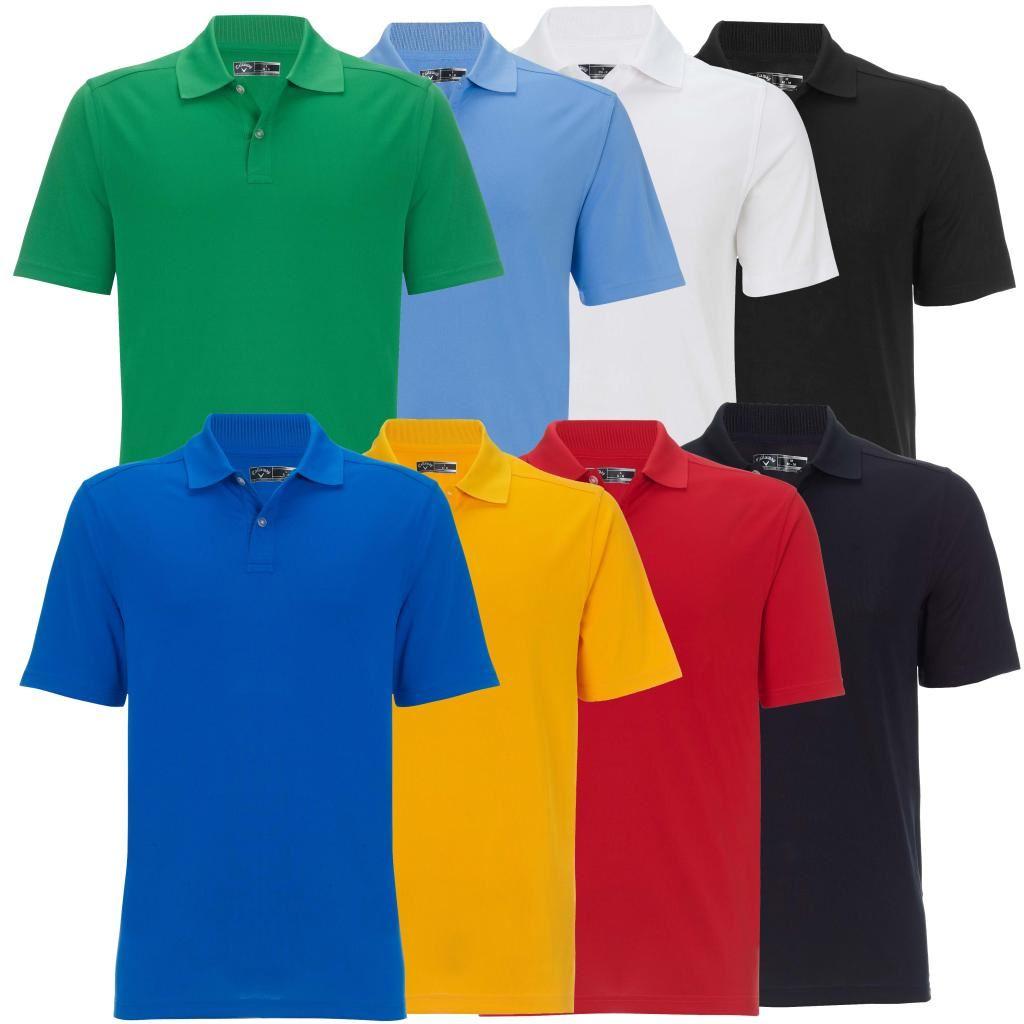 herren poloshirt 2014 callaway poly emboss logo golf polo shirt ebay. Black Bedroom Furniture Sets. Home Design Ideas