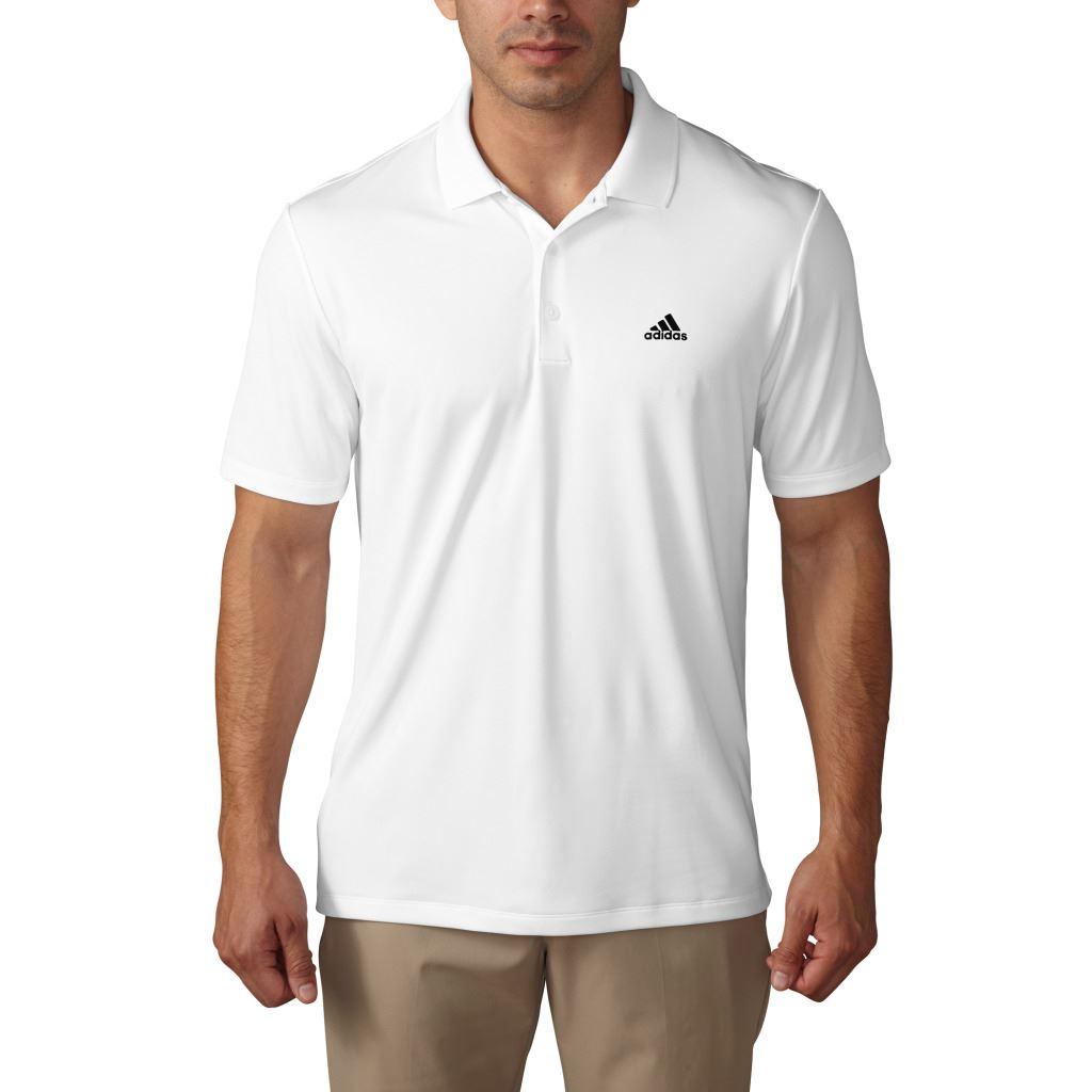 Adidas 2017 golf performance logo chest polo lightweight for Polo golf performance shirt