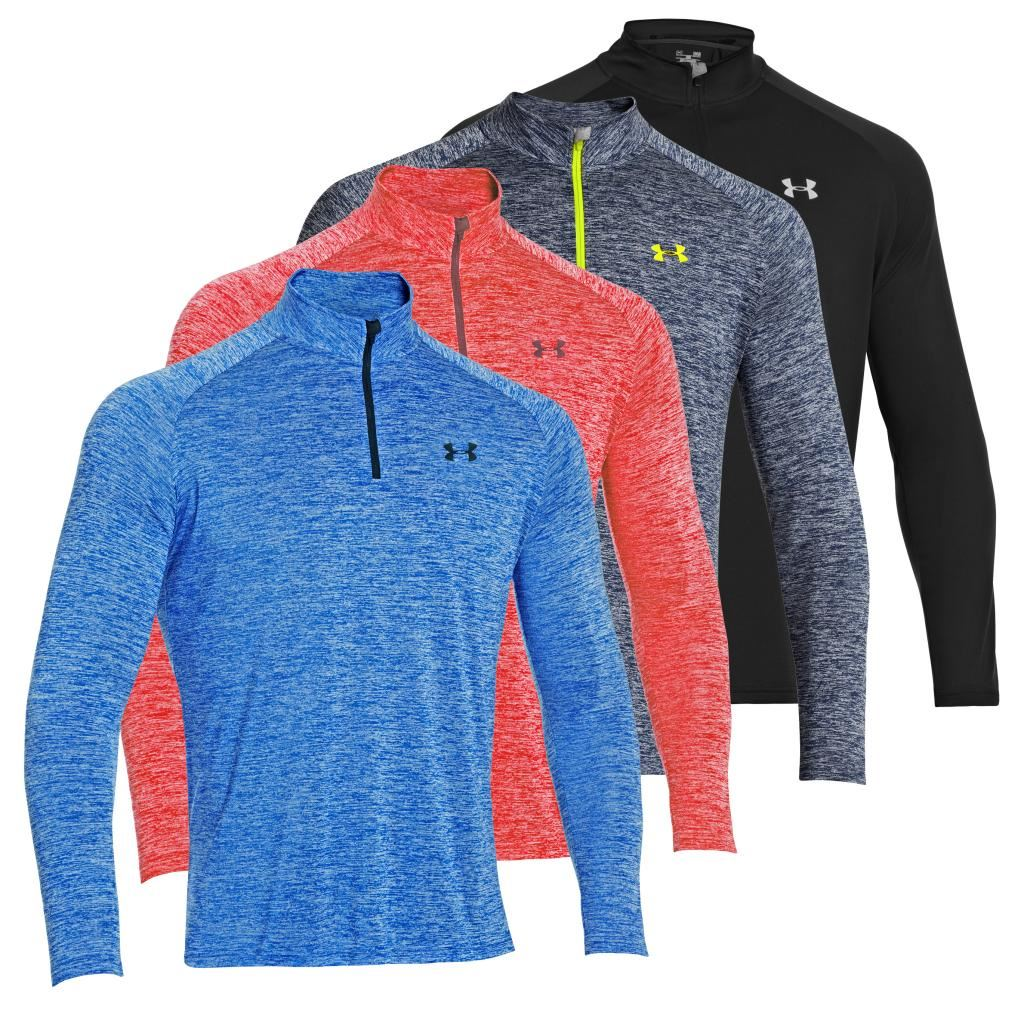2014 Under Armour Novelty Tech 1 4 Zip Cover Up Long