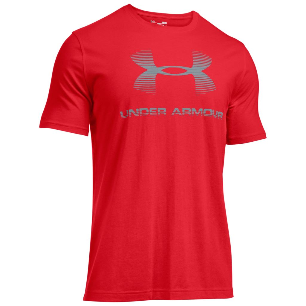 2016 Under Armour Mens Charged Cotton Sportstyle Logo Tee