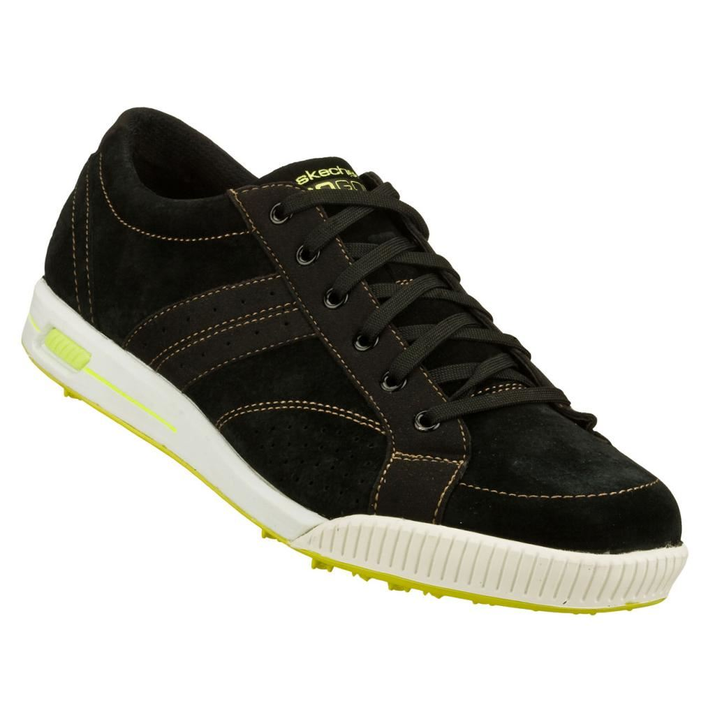 2014 skechers go golf drive sueded spikeless mens