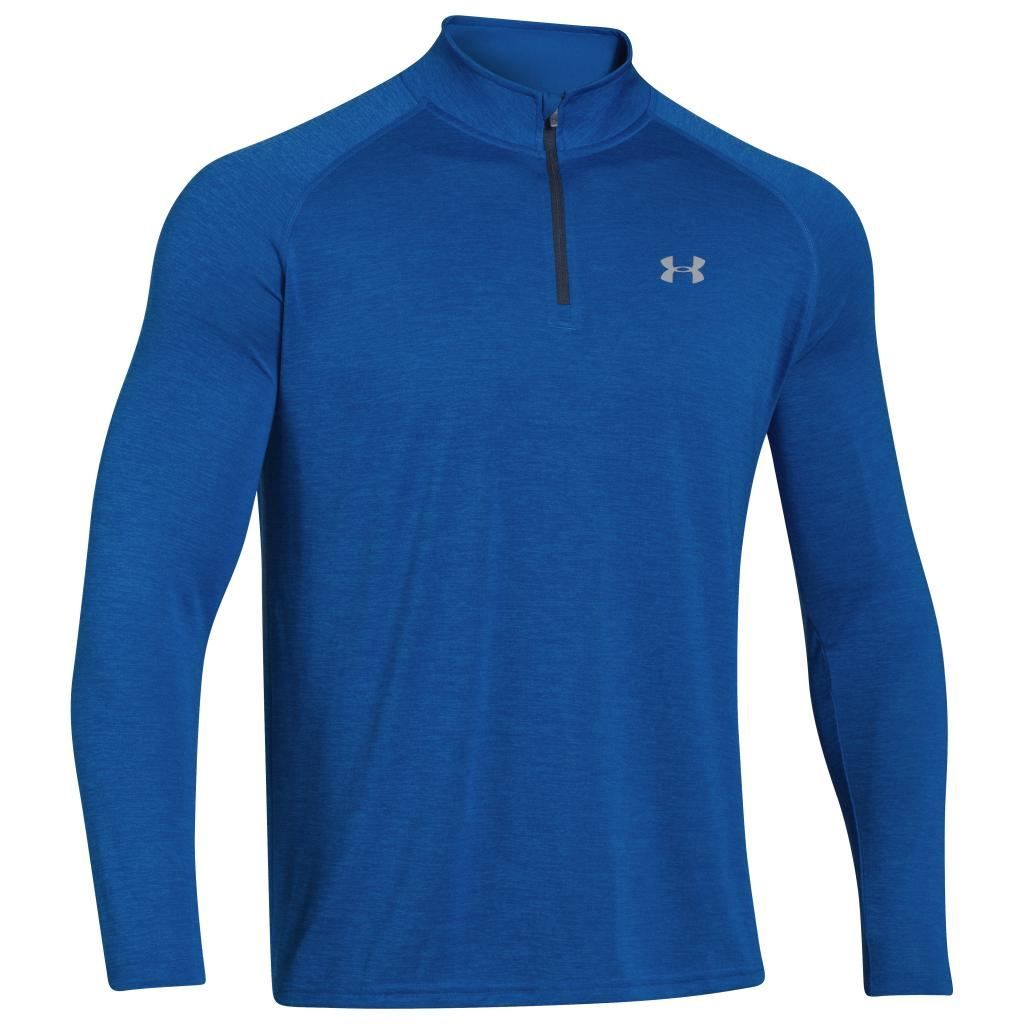 2015 Under Armour Tech 1 4 Zip Cover Up Long Sleeve Top T