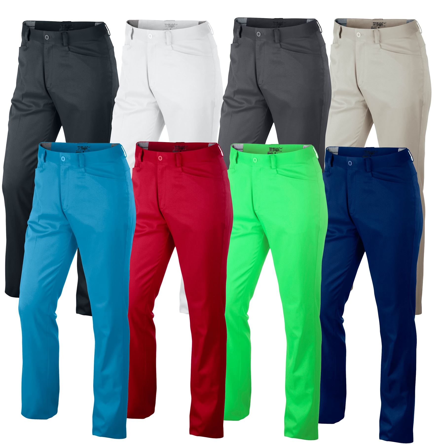 Nike golf pants dri fit