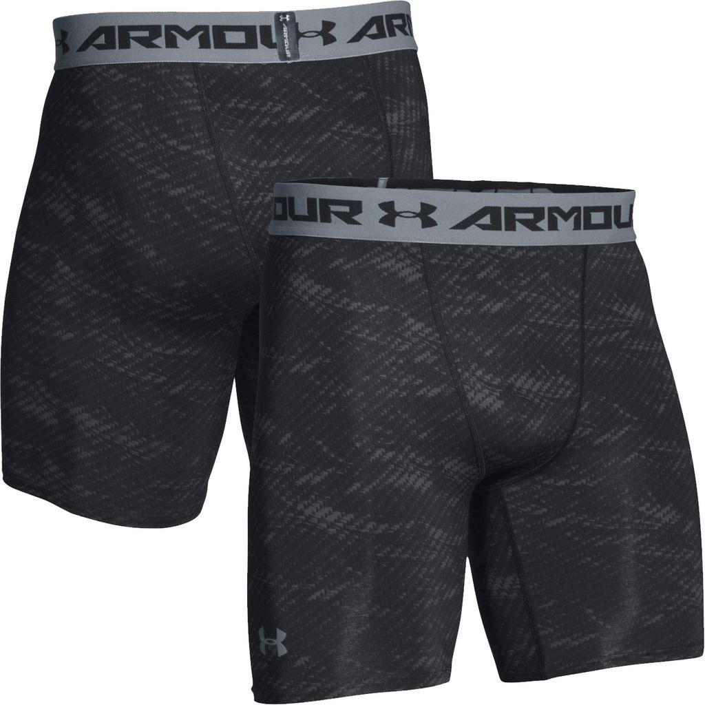 Under Armour 2016 Mens HeatGear Printed Compression Shorts ... Compression Shorts For Men Under Armour