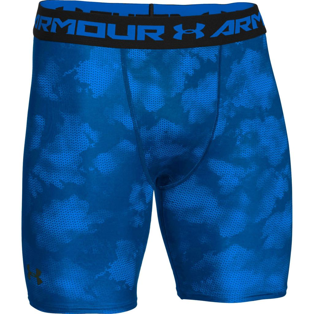 Under Armour 2016 Mens HeatGear Printed Compression Shorts ... Men S Under Armour Compression Shorts