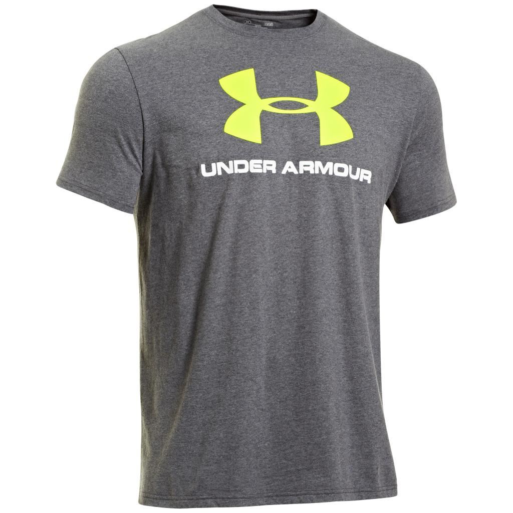 2014 under armour sportstyle logo charged cotton mens t for Under armour charged cotton shirts mens