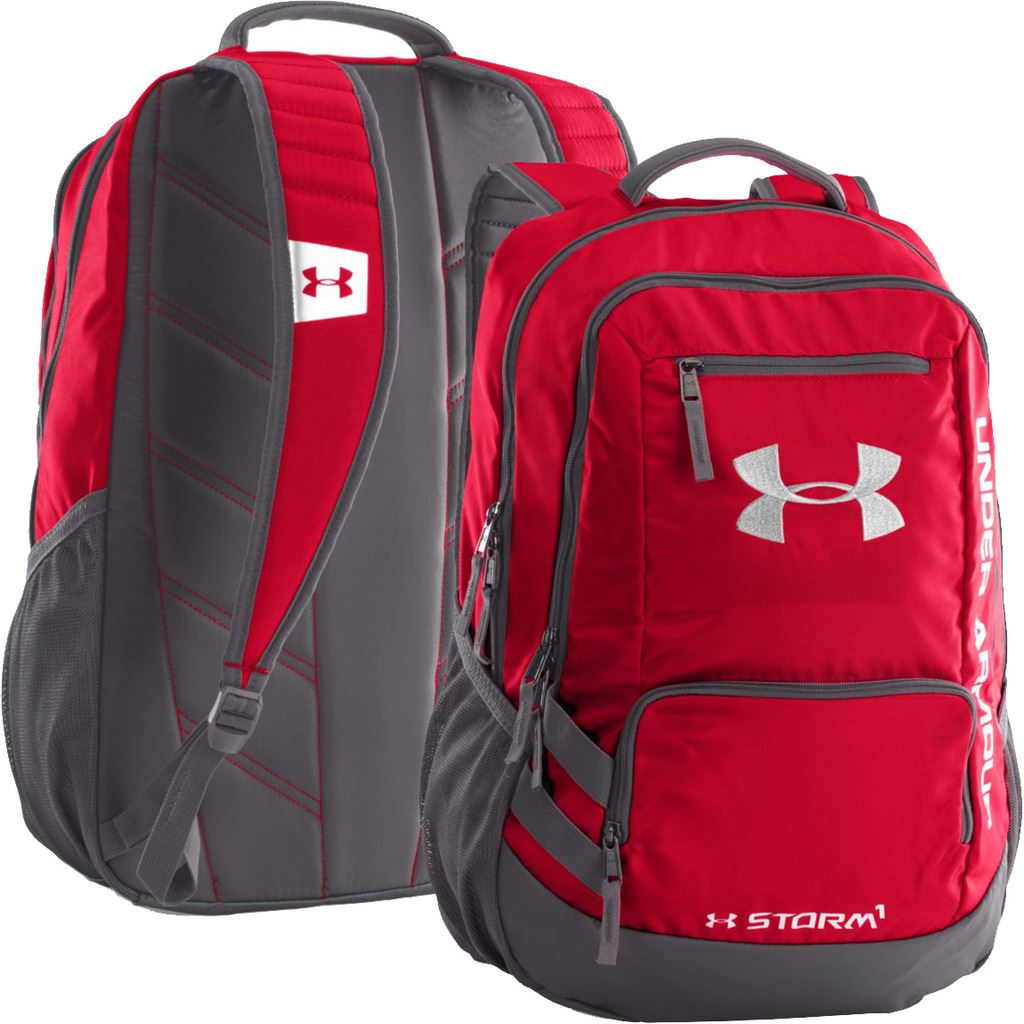 2016 under armour hustle ii temp te sac dos sac sport sac ordinateur portable ebay. Black Bedroom Furniture Sets. Home Design Ideas