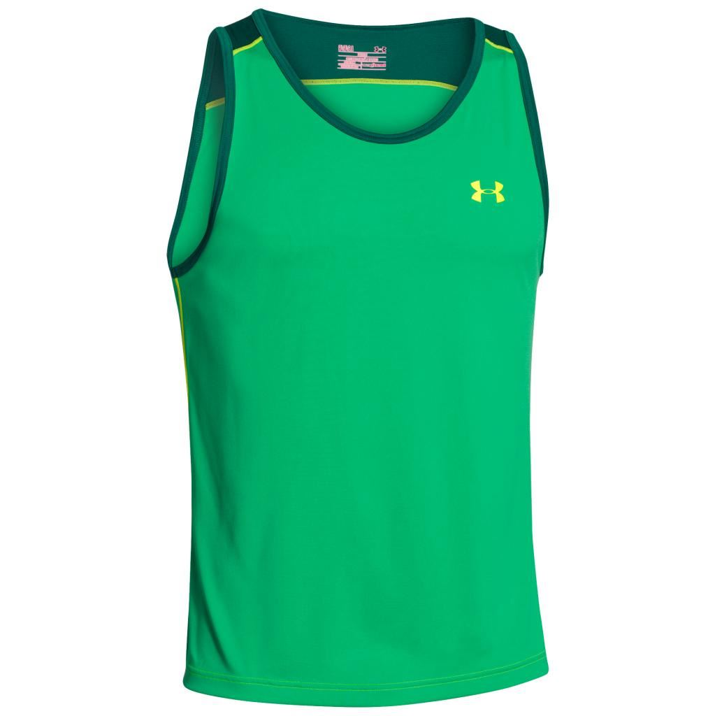 Under armour gym training vest 2015 heatgear mens tank top for Under armour lifting shirts