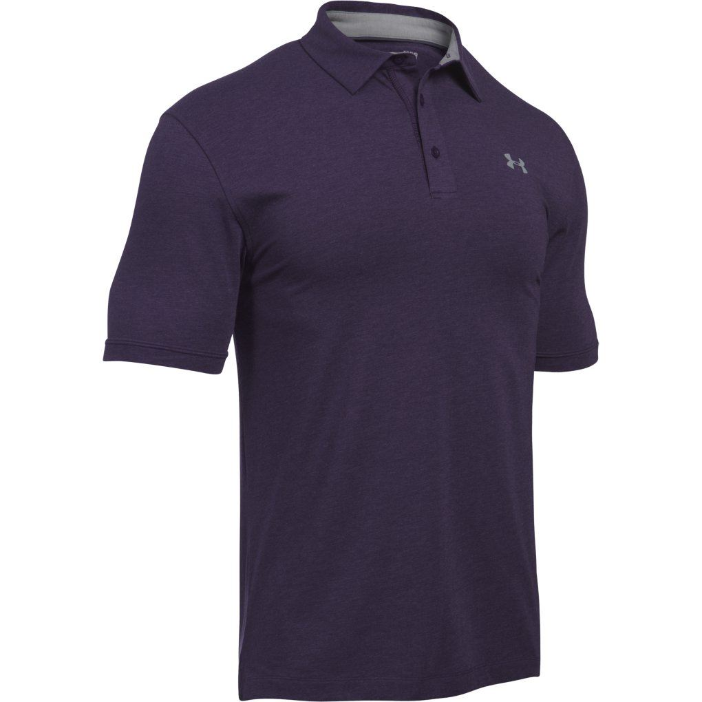 Under armour 2017 charged cotton scramble performance for Men s performance polo shirts