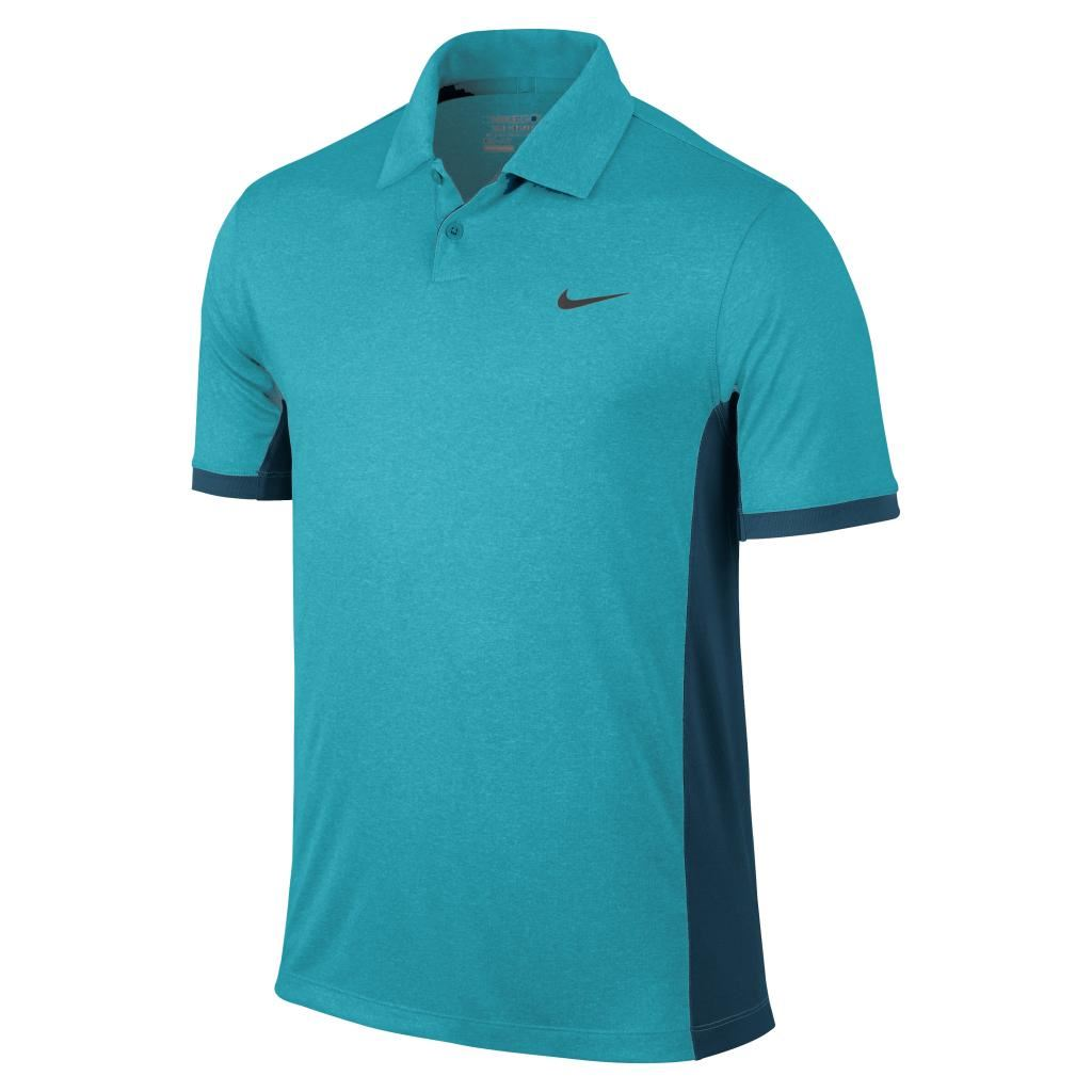 2015 Nike Victory Block Polo Mens Golf Shirt - LOGO CHEST ...
