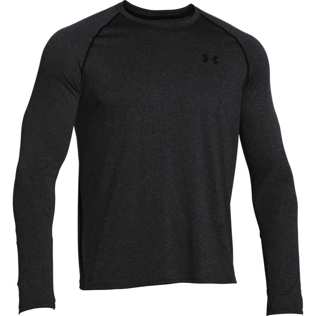 Under armour 2017 i will longsleeve tech t shirt mens gym for Long sleeve technical running shirt
