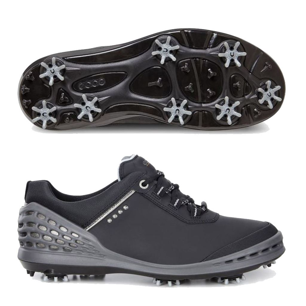 Mens Leather Golf Shoes Spikes