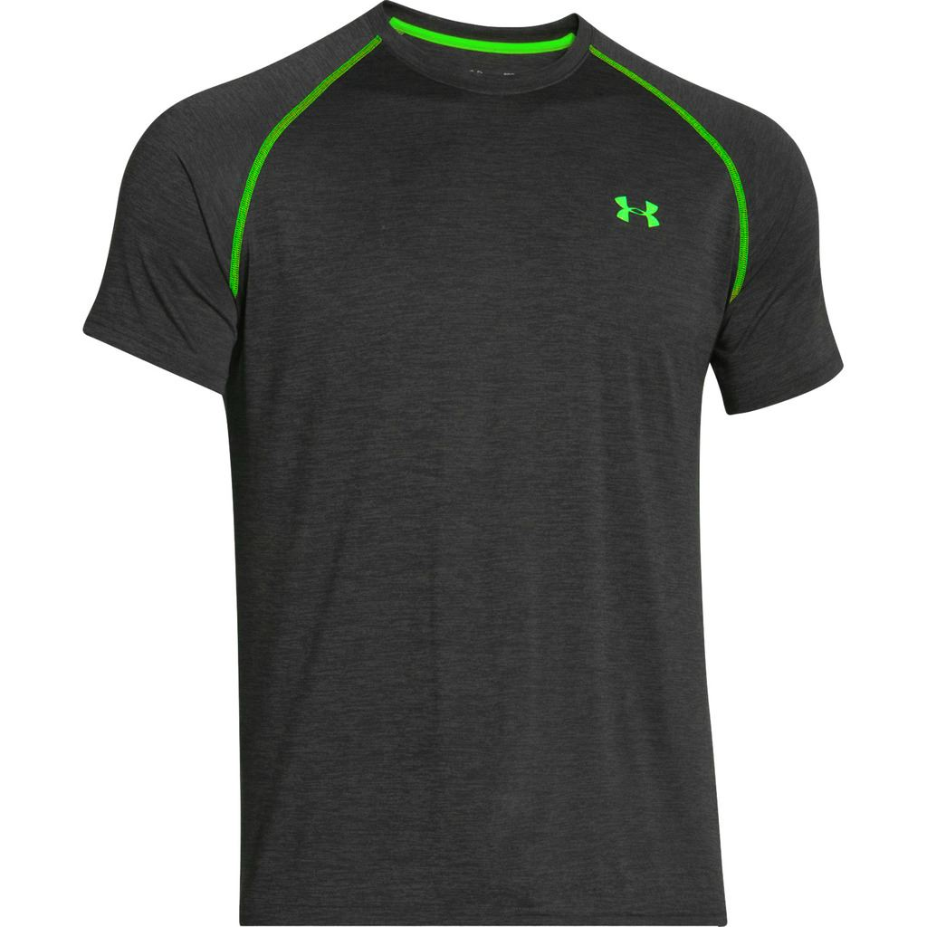 under armour 2016 mens t shirt heatgear tech short sleeve training sports tee ebay. Black Bedroom Furniture Sets. Home Design Ideas