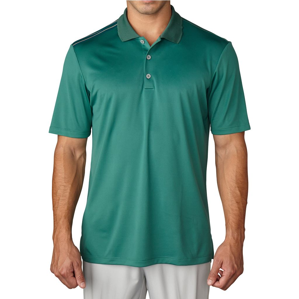 Adidas golf 2016 climacool 3 stripes shoulder performance for Polo golf shirts for men