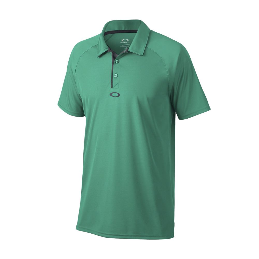Oakley 2017 elemental 2 0 mens hydrolix performance golf for Mens golf polo shirts
