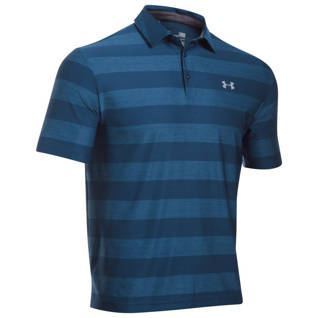 Under armour ua 2016 playoff polo performance heatgear for Men s performance polo shirts