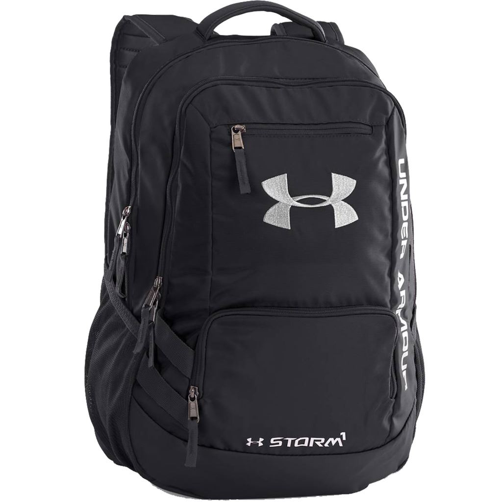 under armour 2015 hustle ii storm backpack gym bag. Black Bedroom Furniture Sets. Home Design Ideas