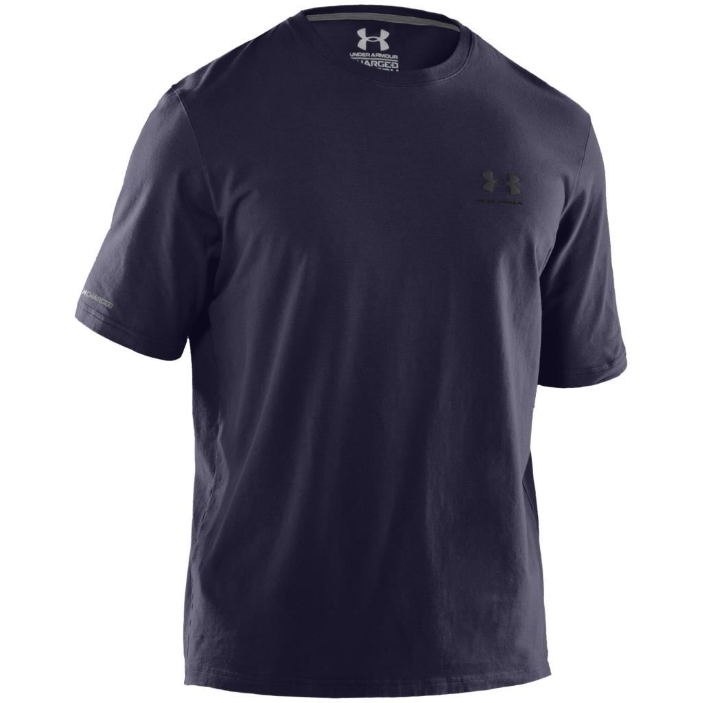 Under Armour Charged Cotton Sportstyle Left Chest Logo