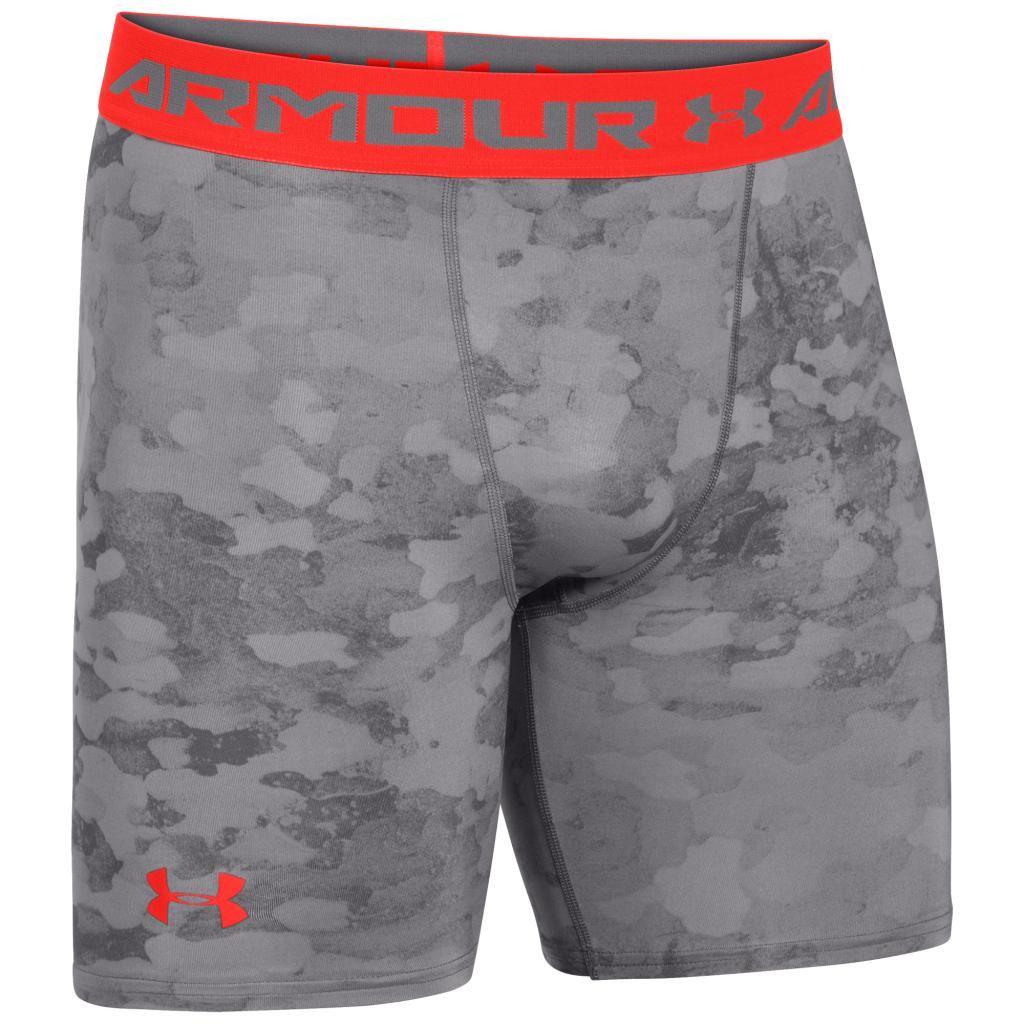 Under Armour 2016 Mens HeatGear Printed Compression Shorts ...Compression Shorts For Men Under Armour