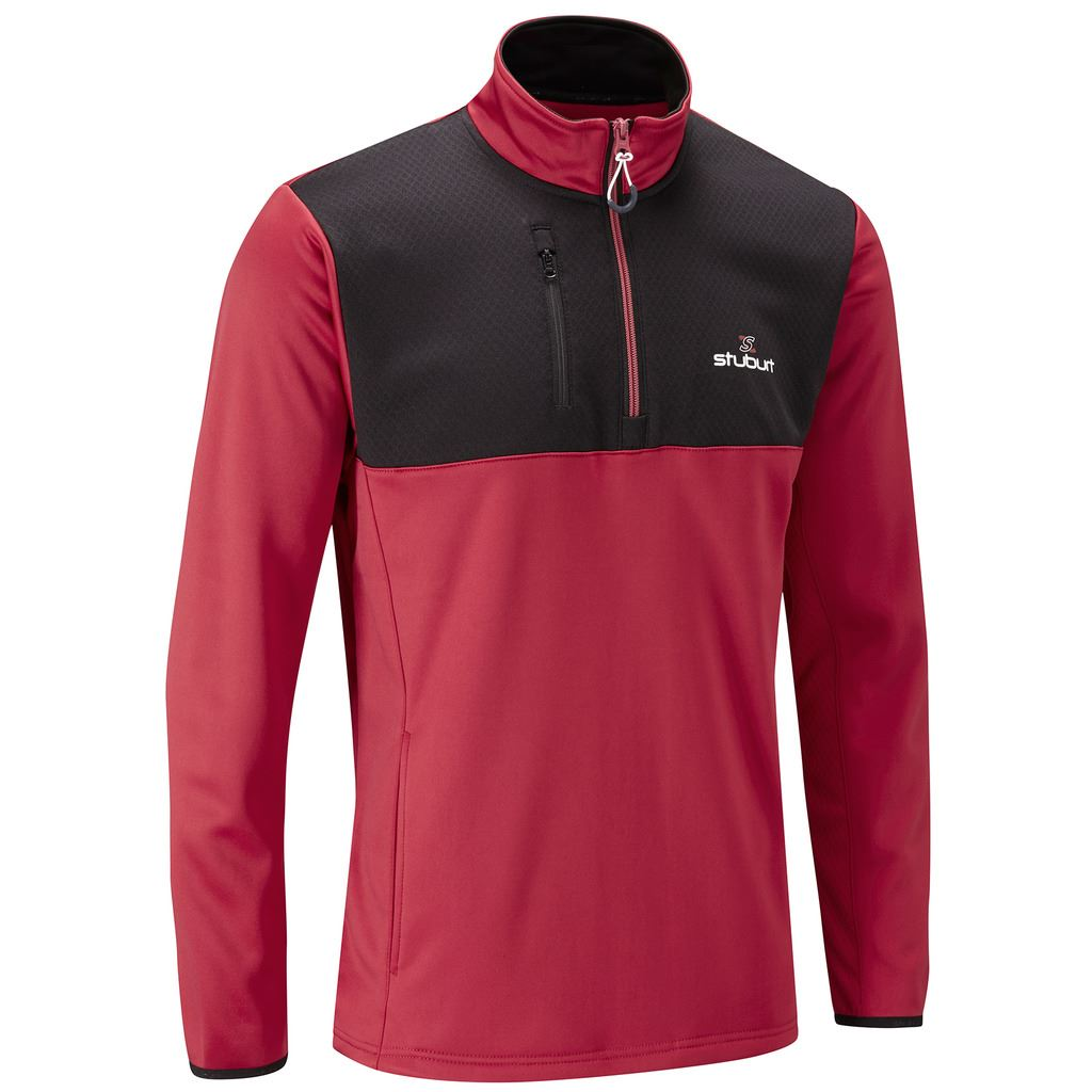 Image result for stuburt vapour half zip fleece