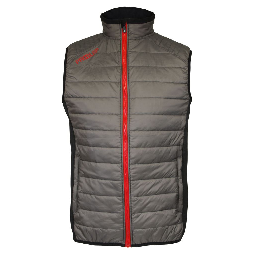 2016 PROQUIP Full Zip Therma Tour Quilted Vest Insulated