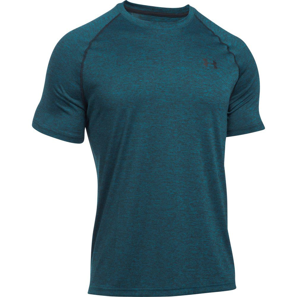 under armour 2017 mens ua t shirt heatgear tech short. Black Bedroom Furniture Sets. Home Design Ideas