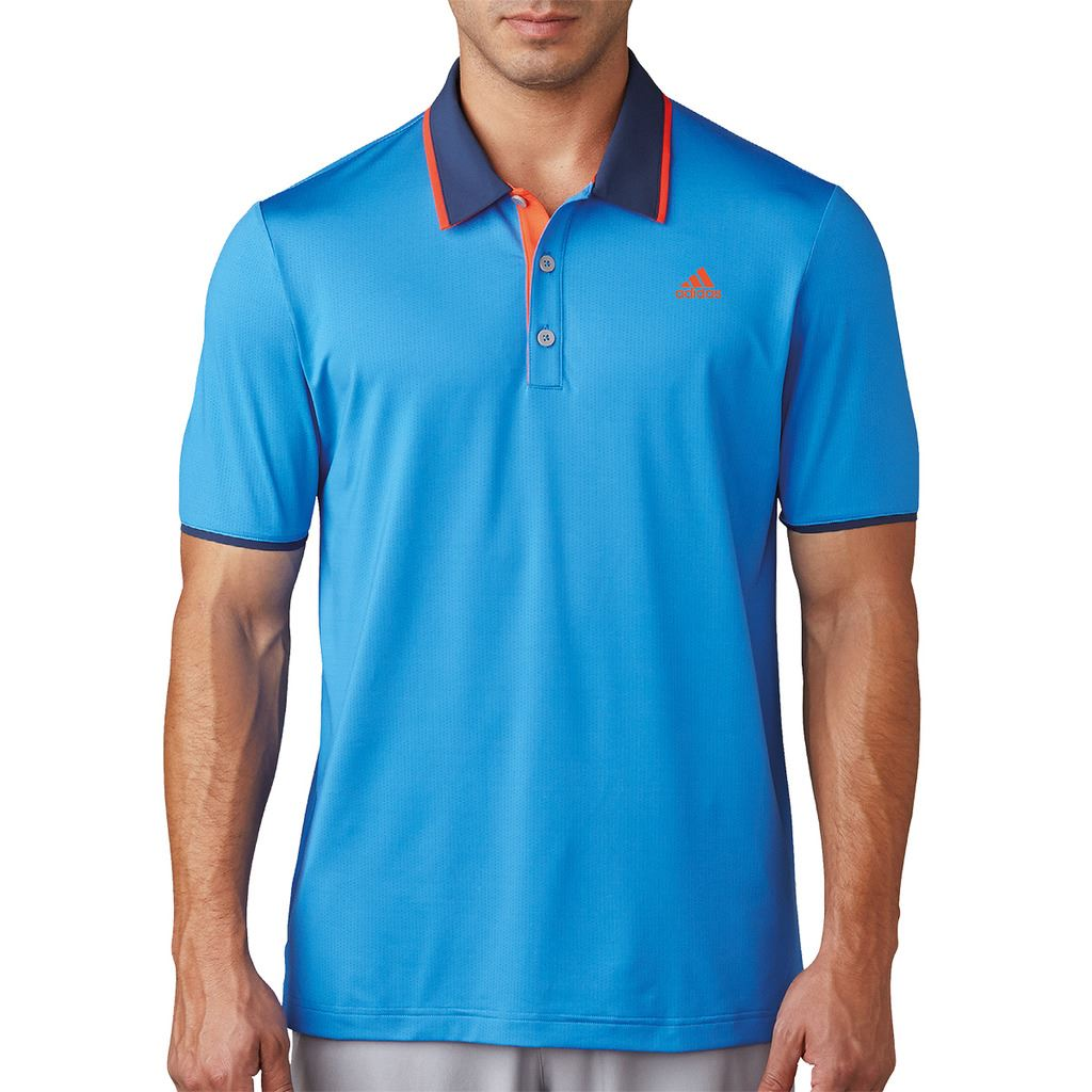 Adidas golf 2017 climacool performance logo chest polo for Polo golf performance shirt