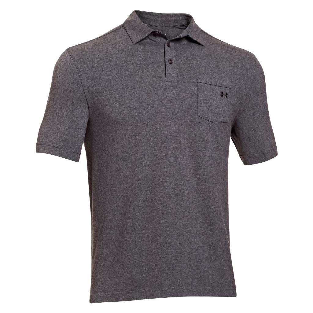 2014 Under Armour Mens Charged Cotton Pocket Polo Golf