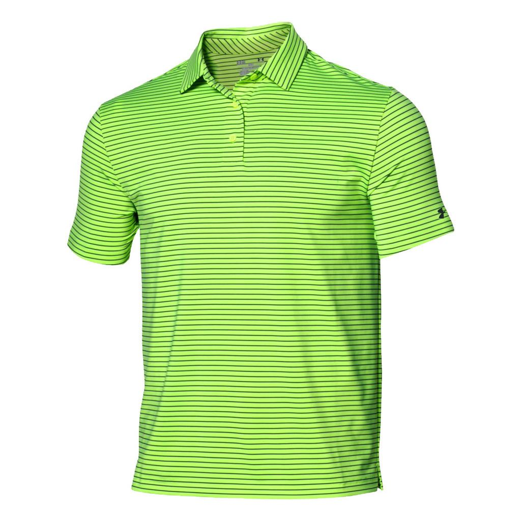 under armour 2016 playoff crestable heatgear performance mens golf polo shirt ebay. Black Bedroom Furniture Sets. Home Design Ideas