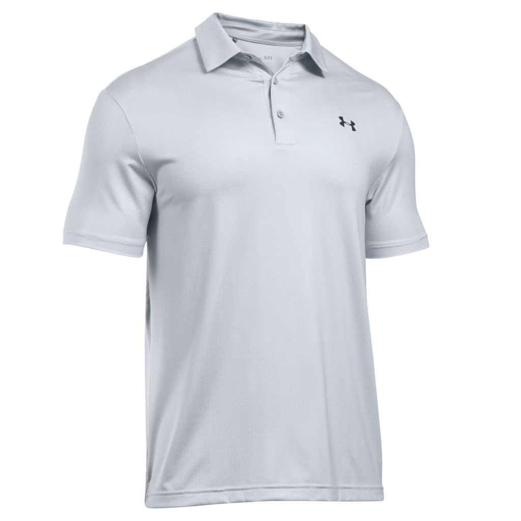 under armour ua 2016 playoff polo performance heatgear mens golf polo shirt. Black Bedroom Furniture Sets. Home Design Ideas