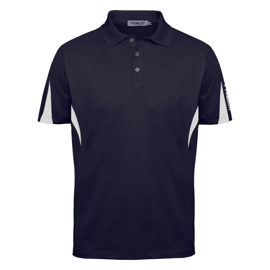Proquip 2016 technical panelled mens performance funky for Mens golf polo shirts