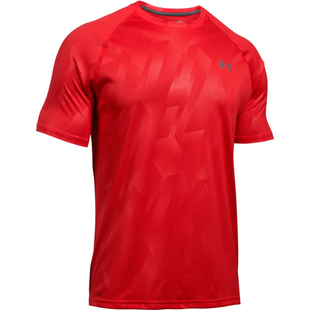 Under armour 2017 tech novelty patterned short sleeve t for Under armour men s tech short sleeve t shirt