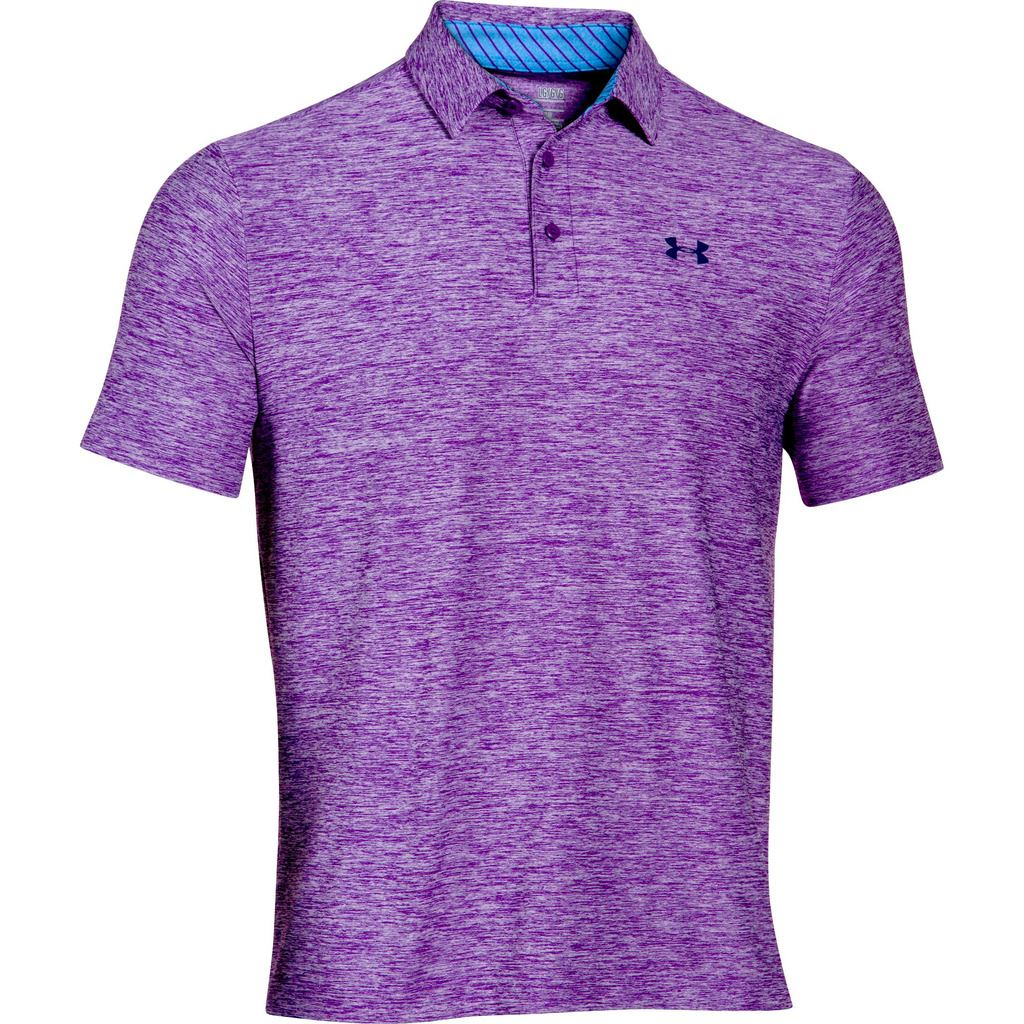under armour 2015 playoff performance funky mens golf polo