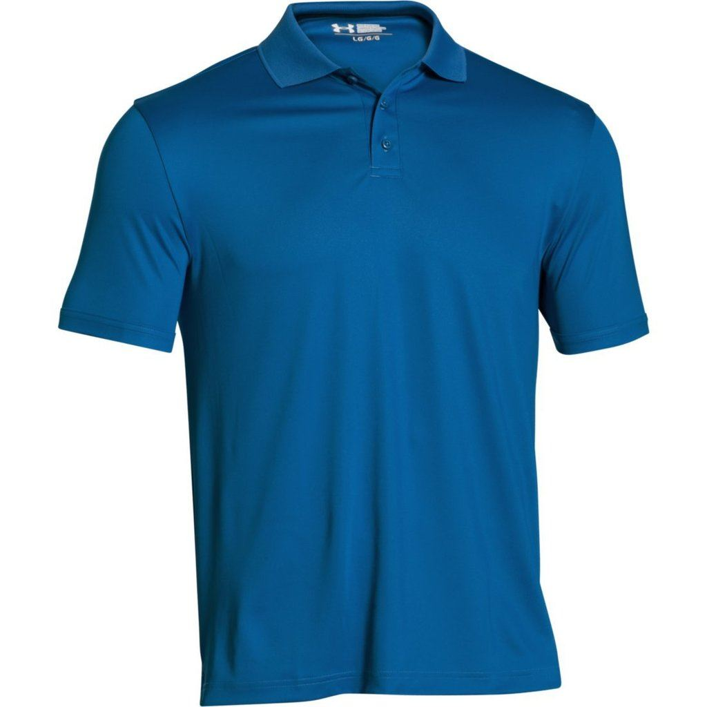 under armour 2016 mens medal play 2 0 performance golf polo shirt ebay. Black Bedroom Furniture Sets. Home Design Ideas