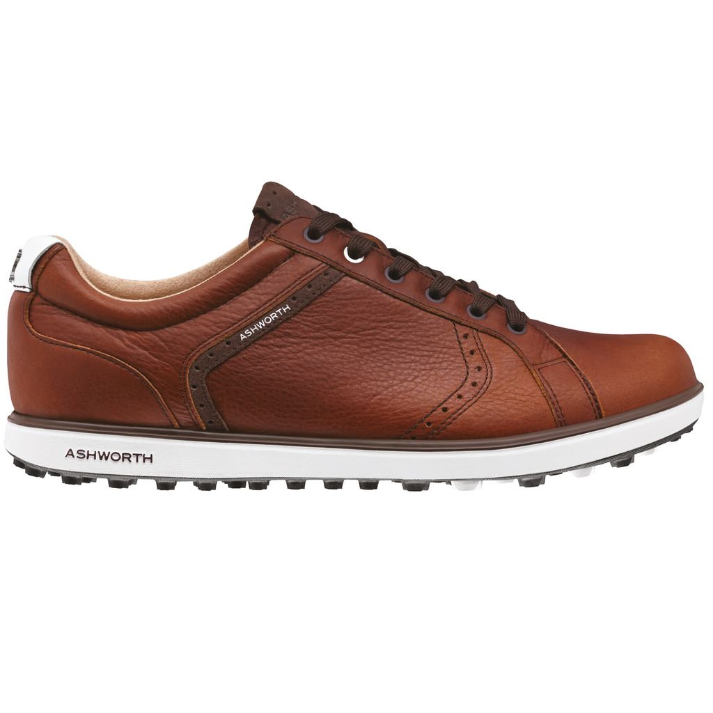 Ashworth Mens Cardiff Spikeless Golf Shoes