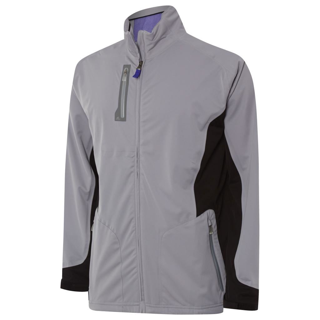 Adidas climaproof 2016 advance rain puremotion softshell for Adidas golf rain shirt