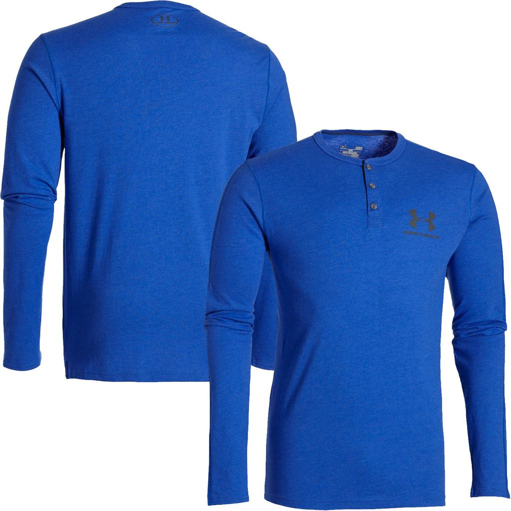 Under Armour 2016 Charged Cotton Sportstyle Henley