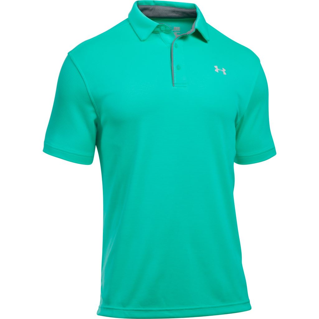 Under armour ua 2017 tech polo heatgear performance mens for Mens golf polo shirts