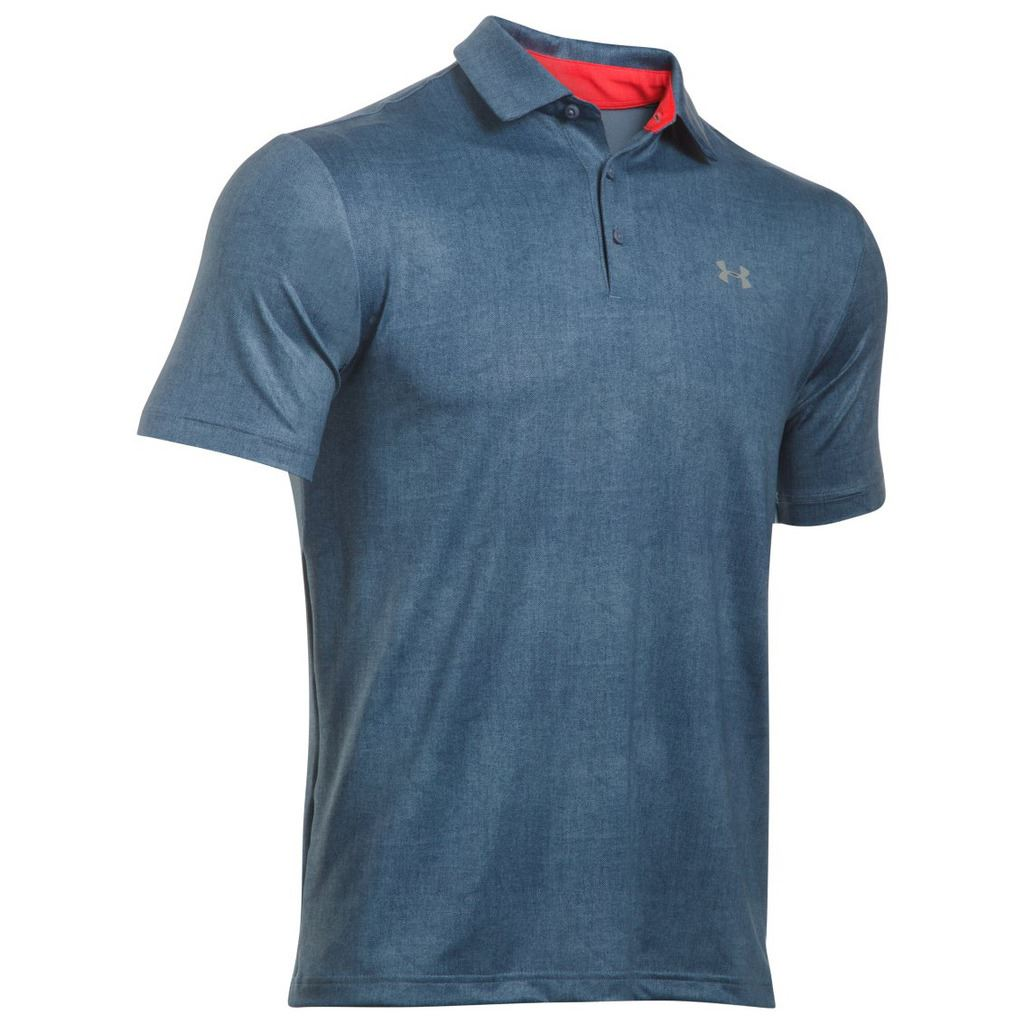Under armour ua 2016 playoff polo performance heatgear for Men s athletic polo shirts