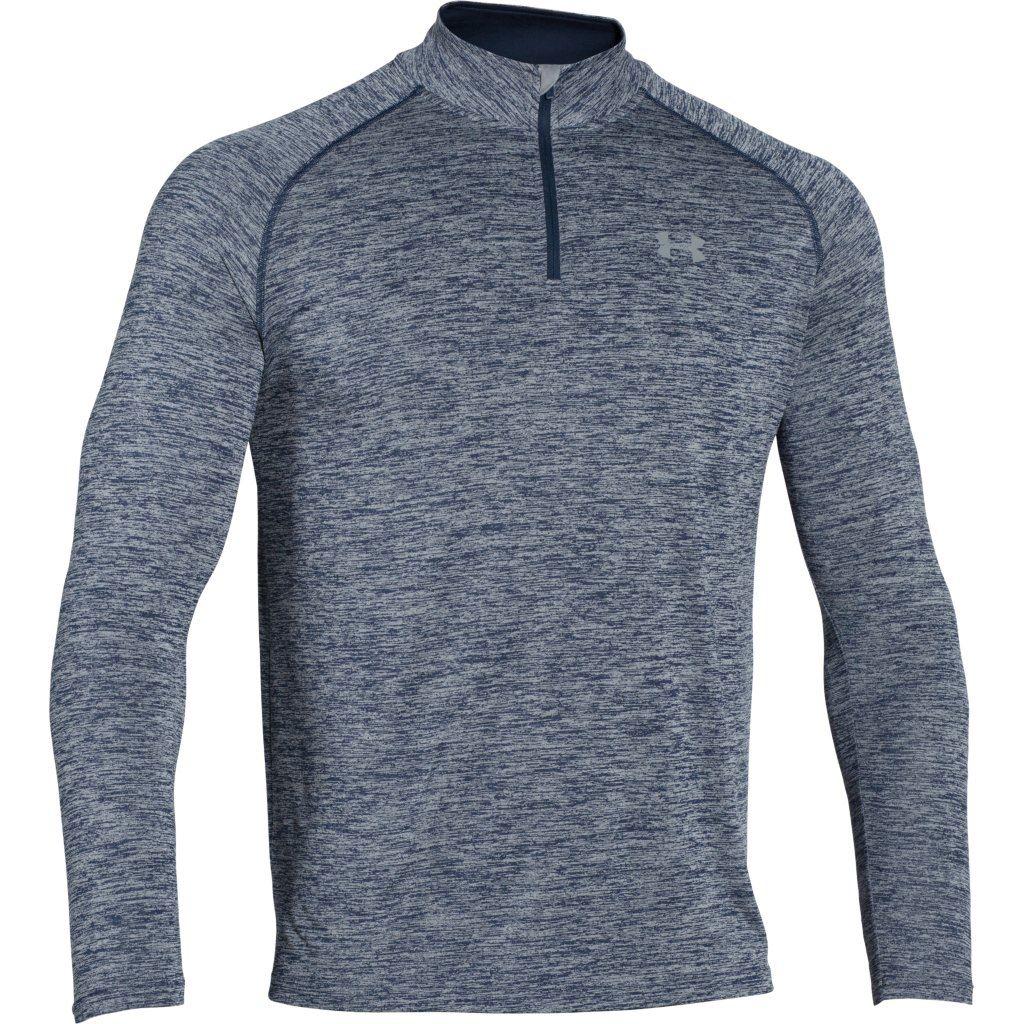 Under-Armour-UA-Mens-Novelty-Tech-1-4-Zip-Long-Sleeve-Top-Layer-Gym-Shirt