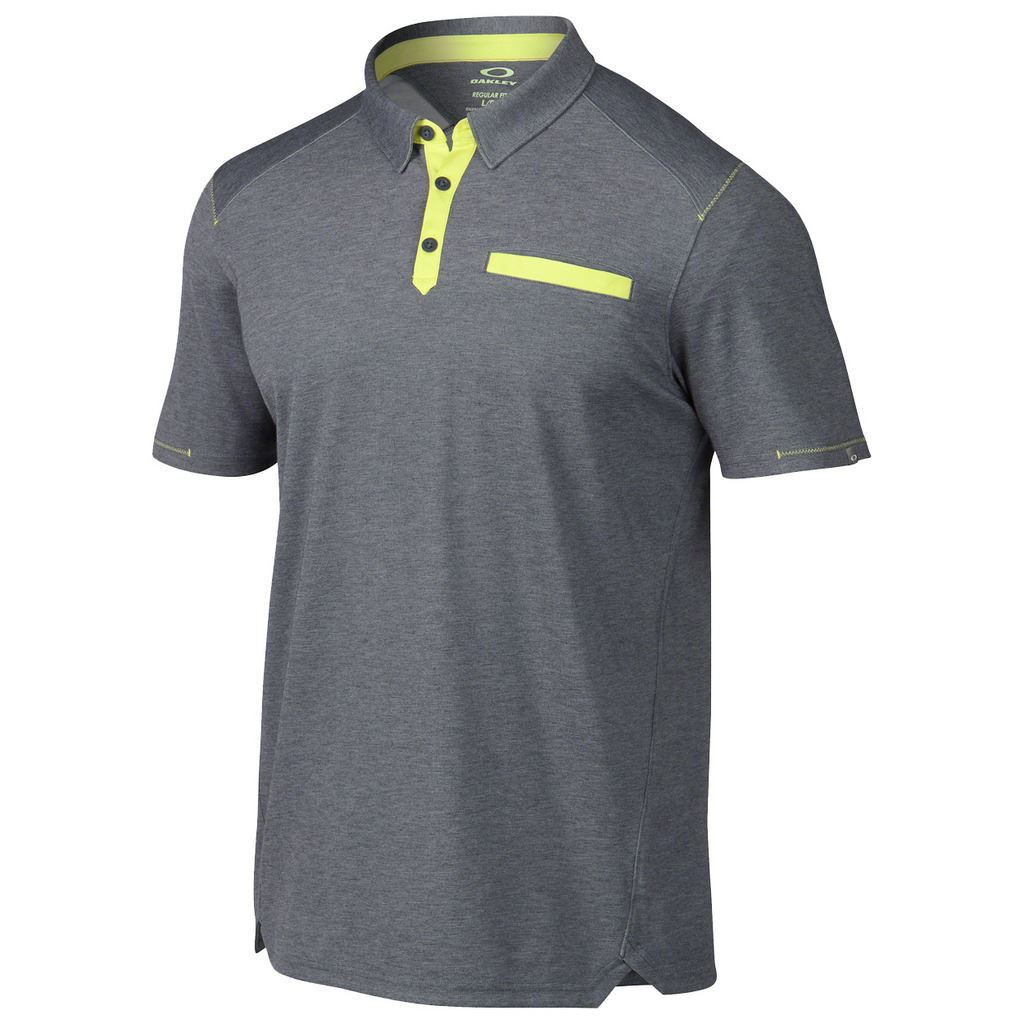 2015 Oakley Coleman Short Sleeve Mens Chest Pocket Golf ...