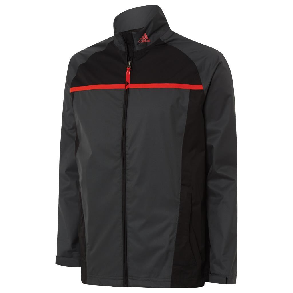 2015 adidas climastorm essentials packable mens rain for Adidas golf rain shirt