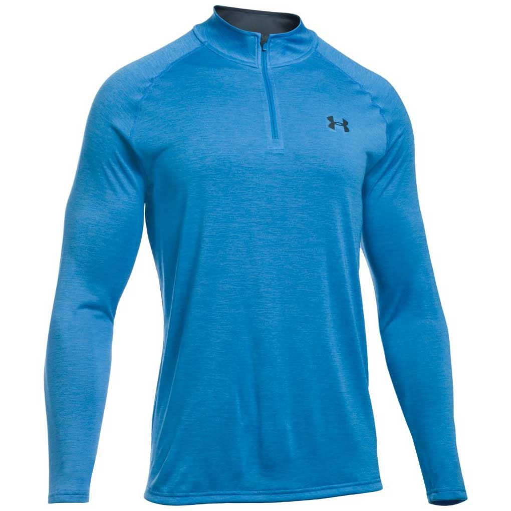 Under Armour Ua Mens Novelty Tech 1 4 Zip Long Sleeve Top