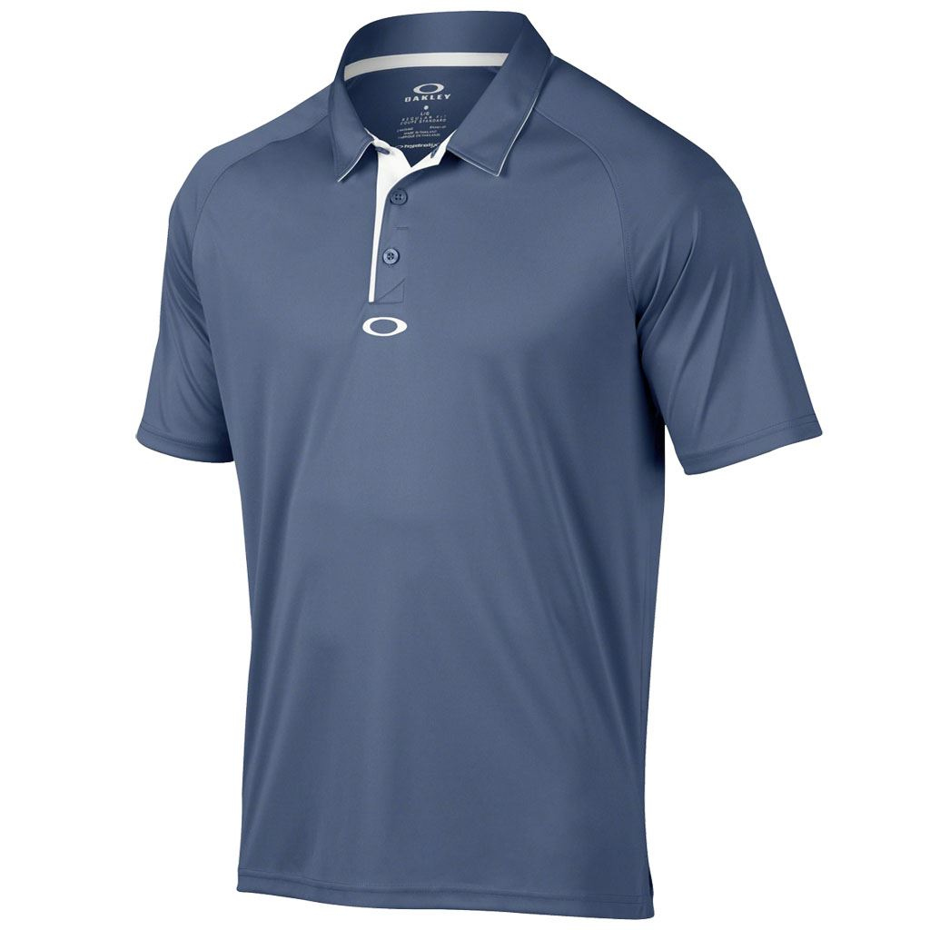 Oakley 2016 elemental 2 0 mens hydrolix performance golf for Polo golf performance shirt