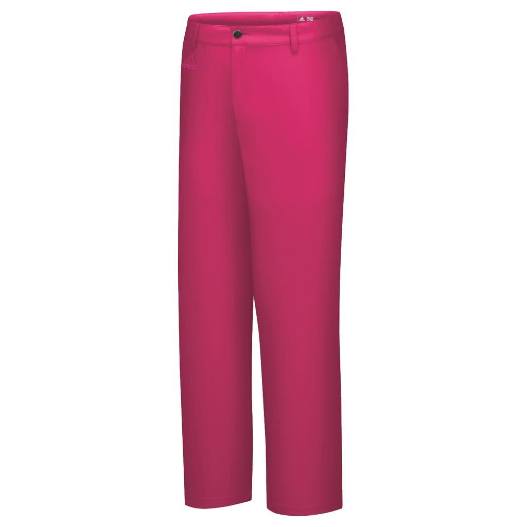 Discount Golf Trousers Shorts For Sale at Snainton Golf Direct Adidas junior fashion textured golf trousers
