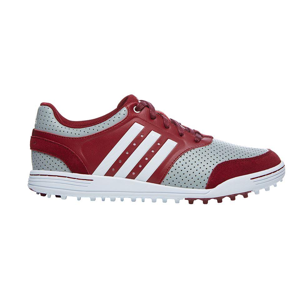 Adidas Adizero Tour Golf Shoes White/Brown ON SALE - Carl's Golfland